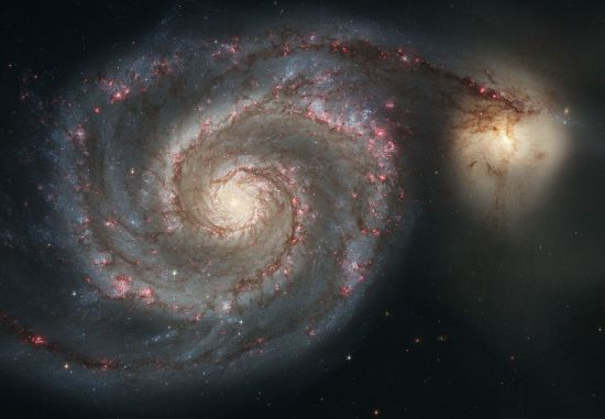 Whirlpool Galaxy. 30,000,000 lightyears